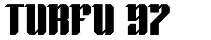 Turfu 97 フォント