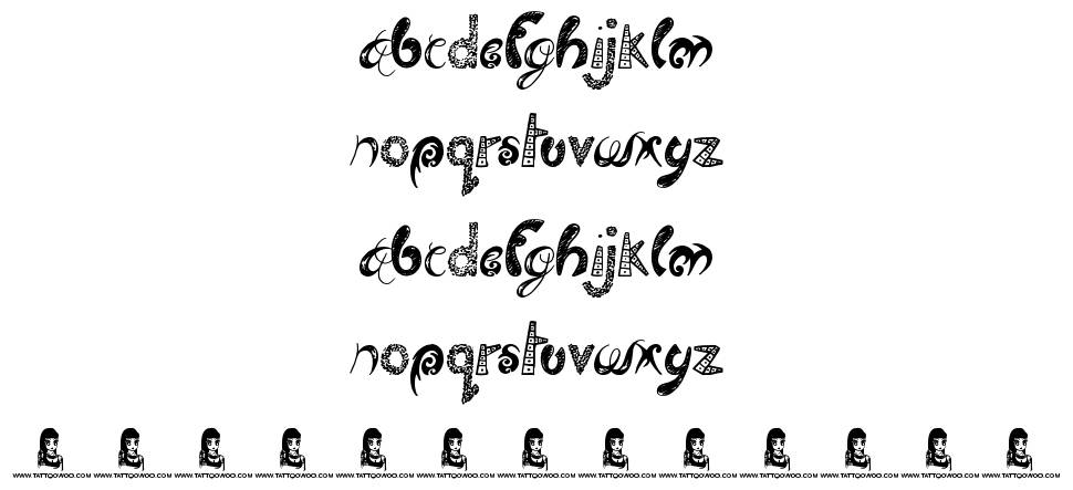 Twisted Brother font