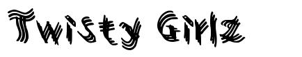 Twisty Girlz font