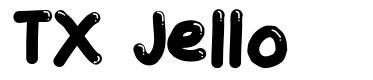 TX Jello font