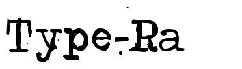Type-Ra 字形