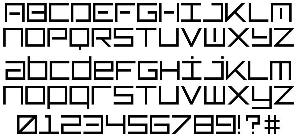 TypeOne font