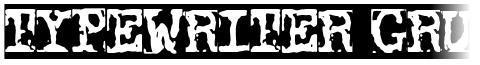 Typewriter Grunge