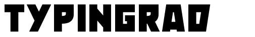 Typingrad font