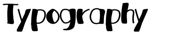 Typography font