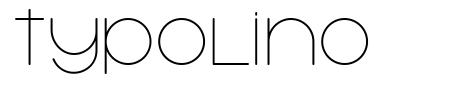 Typolino font