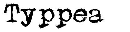 Typpea font