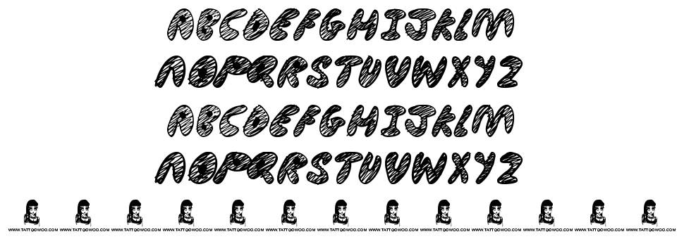 Ultimate Chaos font