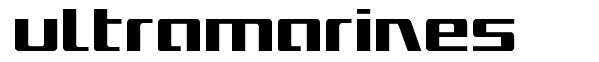 Ultramarines font