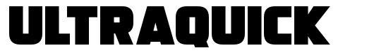 Ultraquick font