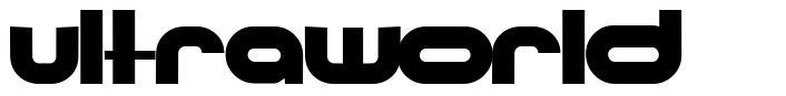 Ultraworld písmo