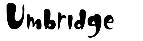 Umbridge fonte