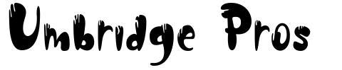 Umbridge Pros