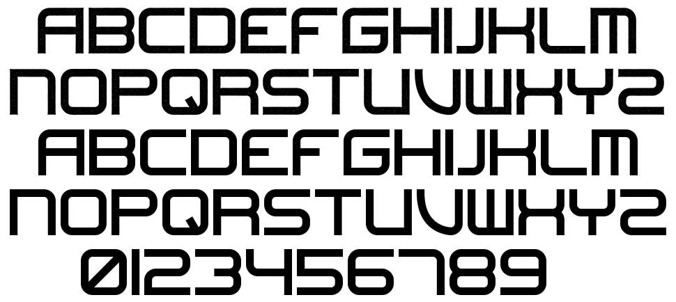 Undefeated font