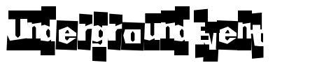 Underground Event font