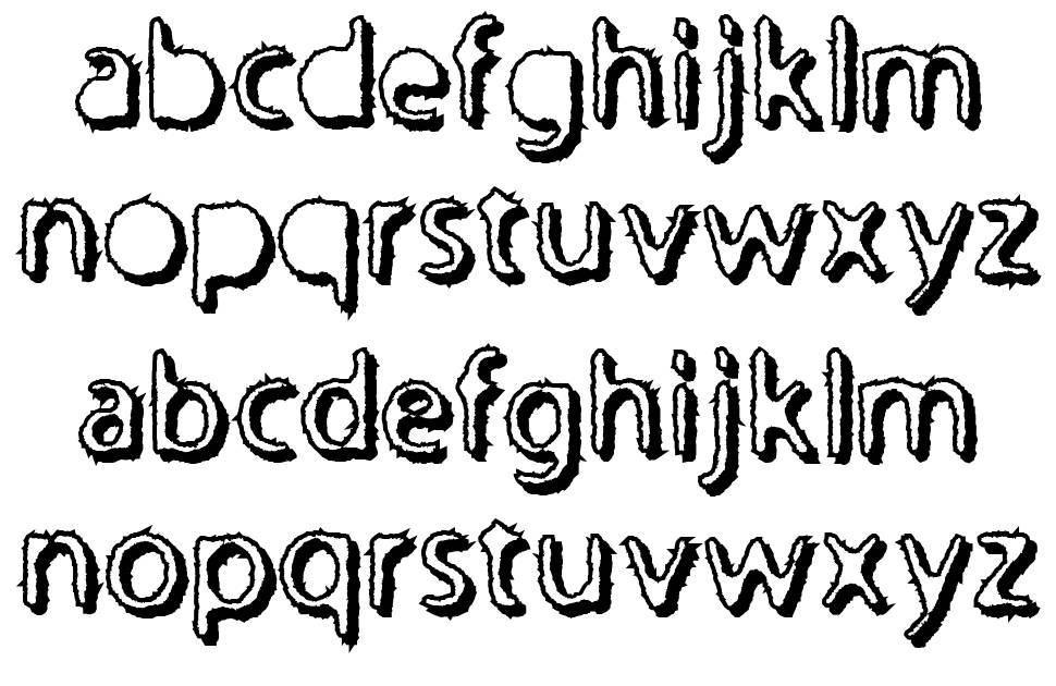 Undertaker písmo