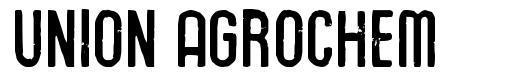 Union Agrochem шрифт