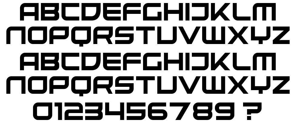 United Kingdom font