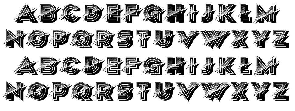 Unordentlich font
