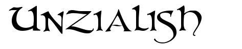 Unzialish font