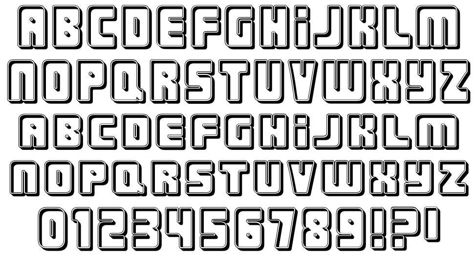 Urban Constructed font