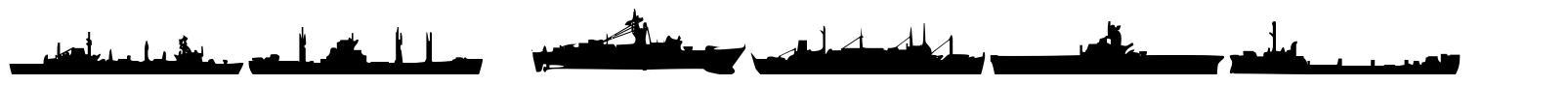 US Navy 字形