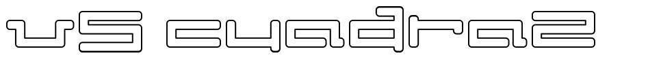 V5 Cuadra2 font