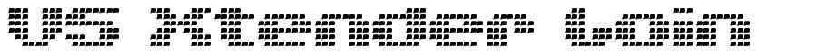 V5 Xtender Loin font