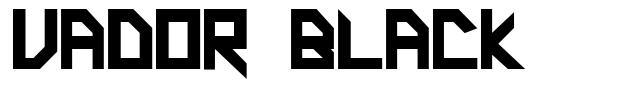 Vador Black