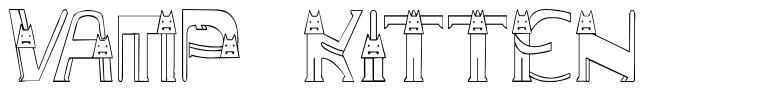 Vamp Kitten font