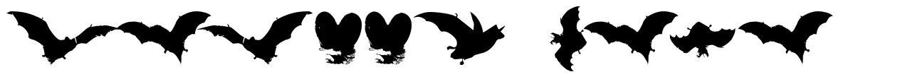 Vampyr Bats 字形