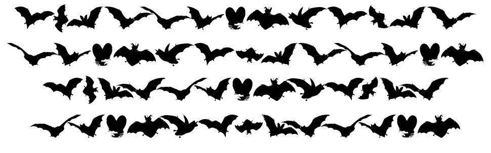 Vampyr Bats font
