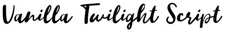 Vanilla Twilight Script