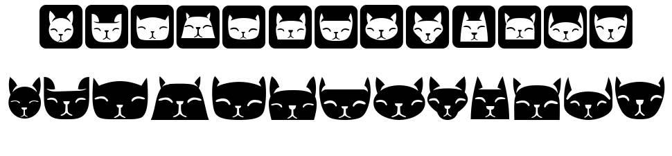 Various Cats font