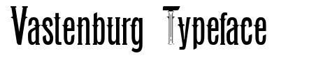 Vastenburg Typeface