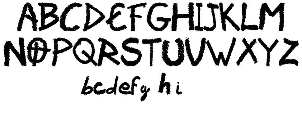 Vaudoo RF font