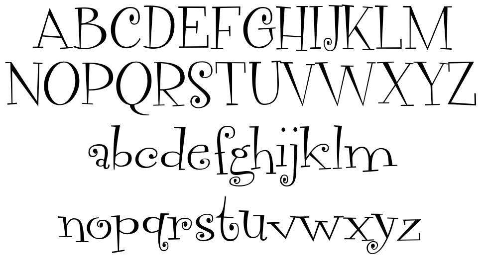 Vegacute шрифт