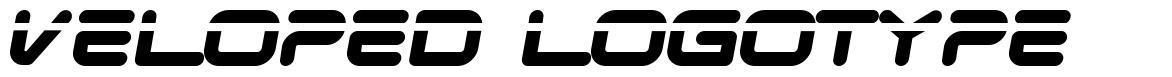 Veloped Logotype font