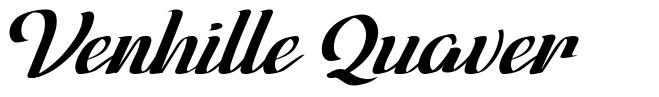 Venhille Quaver font