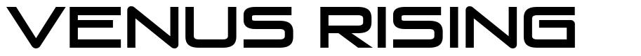 Venus Rising 字形