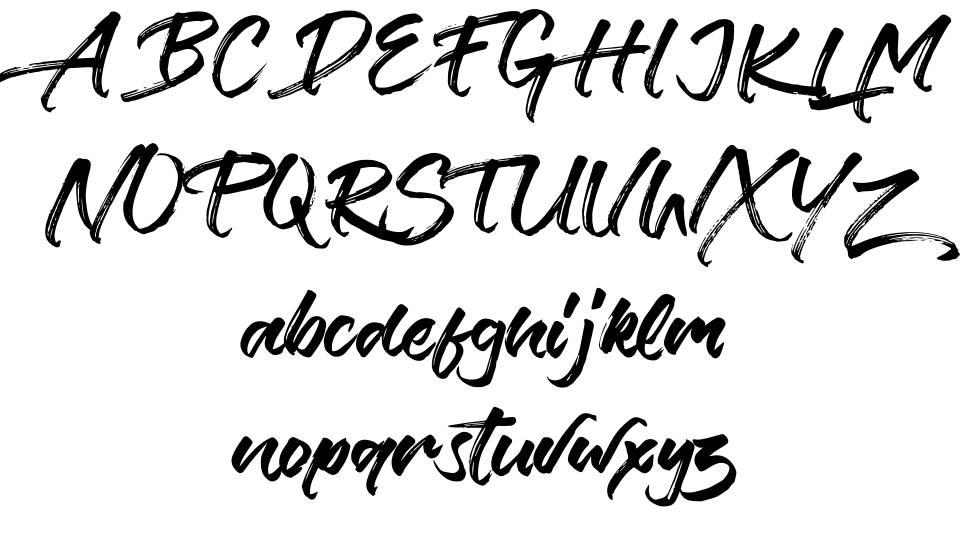Verbena 字形