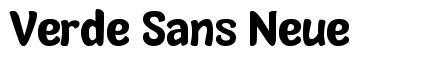 Verde Sans Neue フォント