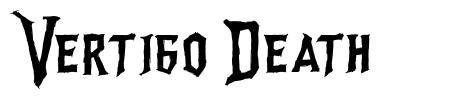 Vertigo Death font