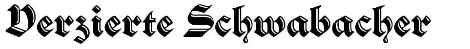 Verzierte Schwabacher