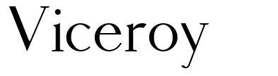 Viceroy font