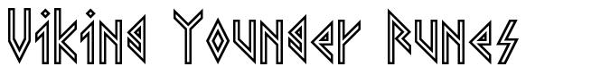 Viking Younger Runes