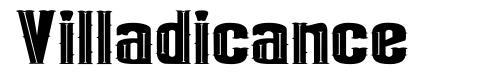 Villadicance font