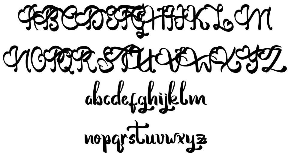 Vinolya font