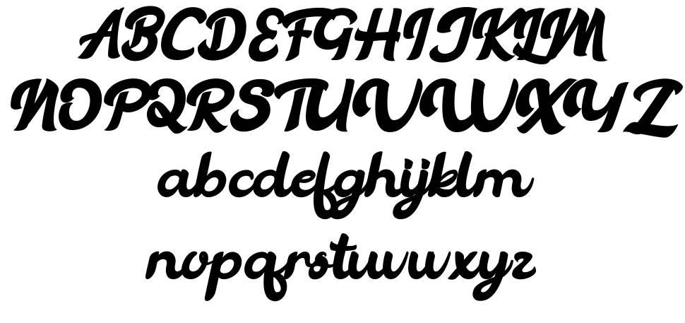 Vintage Legends font
