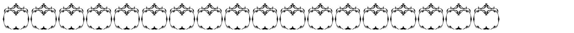 Vintage Panels 018 font